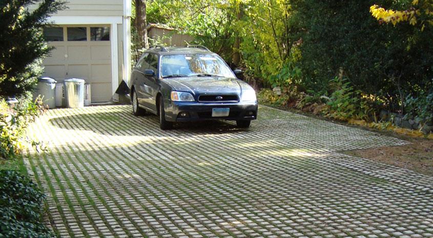 Driveways Soil Retention