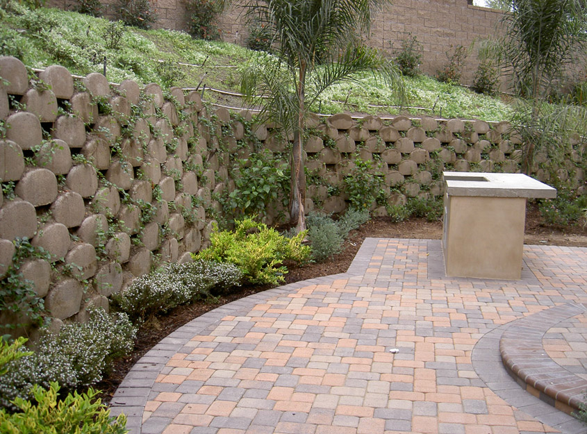 australian concrete diamond small wall block design retaining walls blocks garden attractive