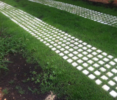 Drivable Grass® Green Driveway With Zenith Grass