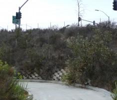 La Costa access road